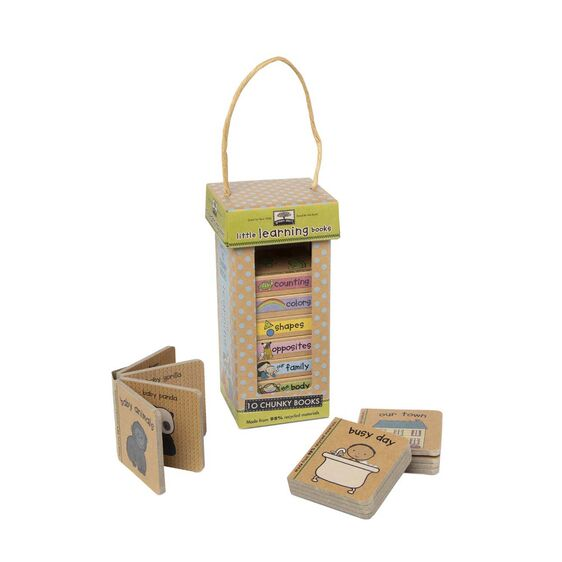 Natural Play Book Tower Little Learning Books
