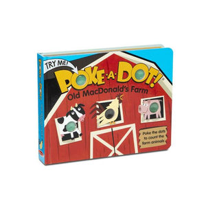 Poke-A-Dot Old MacDonald's Farm Board Book