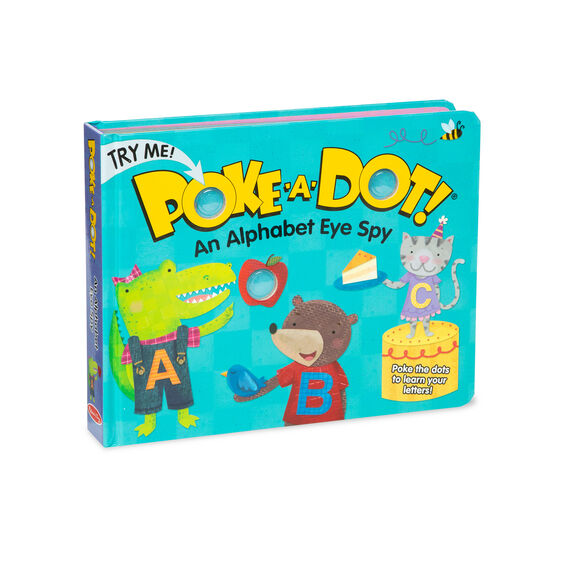 Poke-A-Dot Book Alphabet Eye Spy Board Book