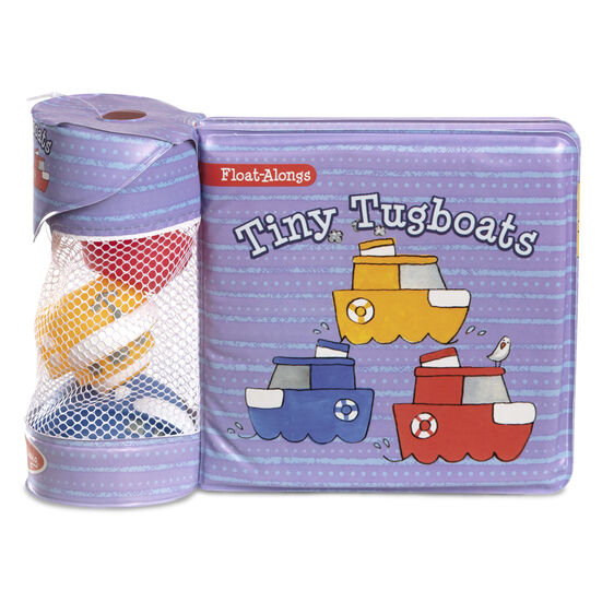 Float-Along Tiny Tugboats Tub Book