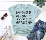 Happiness is Being a Grandma Tee Shirt