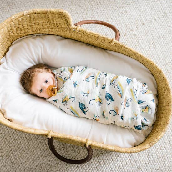 Single Swaddle Blanket Fly Fisherman