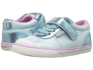 Bevs Real Kids-Kurkside Florence Light Blue Metallic (Toddler/Little Kid)