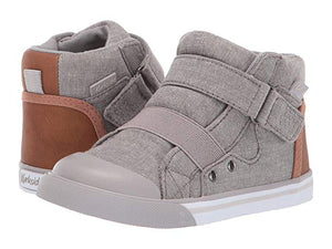 Bevs Real Kids- Kurkside Barca Light Gray/Tan (Toddler/Little Kid)