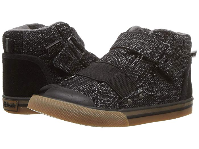 Bevs Real Kids- Kurkside Barca Black (Toddler/Little Kid)