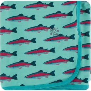 Swaddling Blanket Glass Rainbow Trout