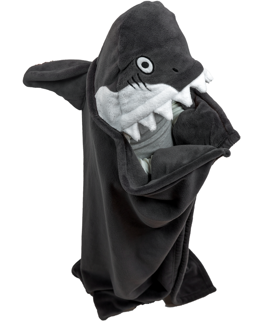Shark Critter Hooded Blanket