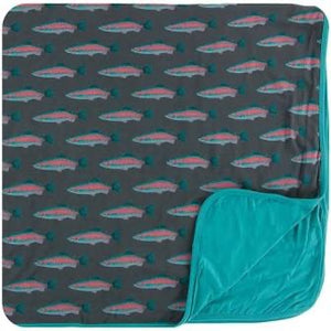 Toddler Blanket Stone Rainbow Trout