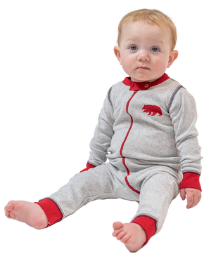 Grey Bear Infant Onesie Flapjack