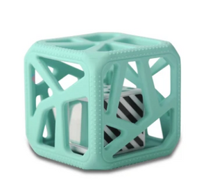 Chew Cube Mint Green