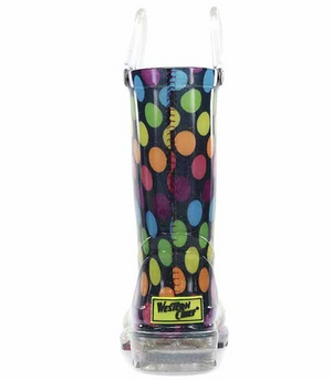 Darling Dot Light Up Rain Boots