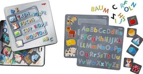 Magnetic Game Tin Alphabet