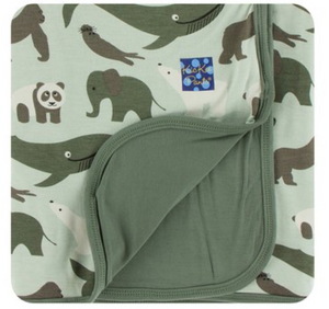 Toddler Blanket Aloe Endangered Animals