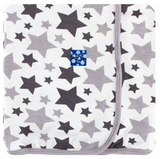 Swaddle Blanket Feather Rain Stars