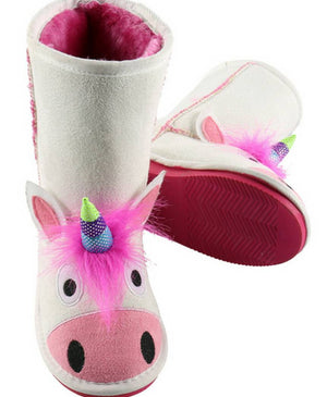 Unicorn Toasty Toez Boots