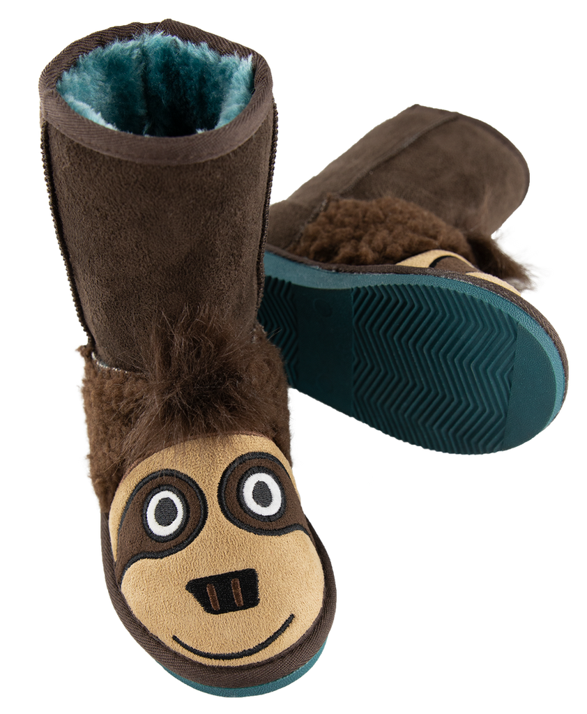 Sloth Toasty Toez Boots