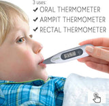 Digital Thermometer For Kids And Adults - Oral and Rectal
