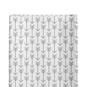 Changing Pad Cover Grey Arrows