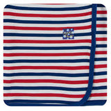 Swaddle Blanket USA Stripe
