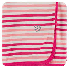 Swaddling Blanket Forest Fruit Stripe