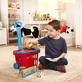 Fill & Roll Grocery Basket Play Set