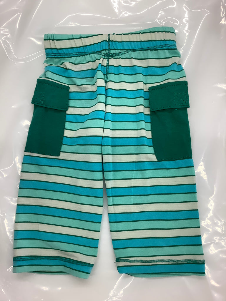 Print Cargo Pant Boy Tropical Stripe
