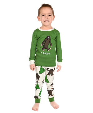 I Believe Big Foot PJ Set