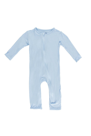 Coverall Blue Pond Zipper