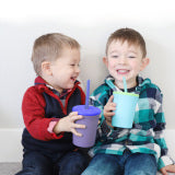 Silicone Toddler Straw Cup 12 oz