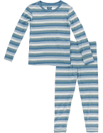 Long Sleeve Pajama Set Oceanography Collection