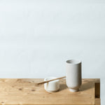 cup L with marble & spoon