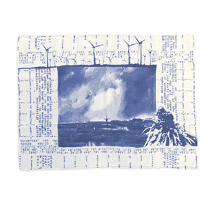 dish towel - blue
