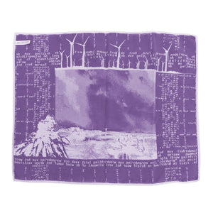 dish towel - purple