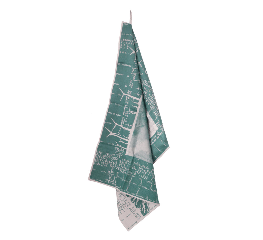 dish towel - green