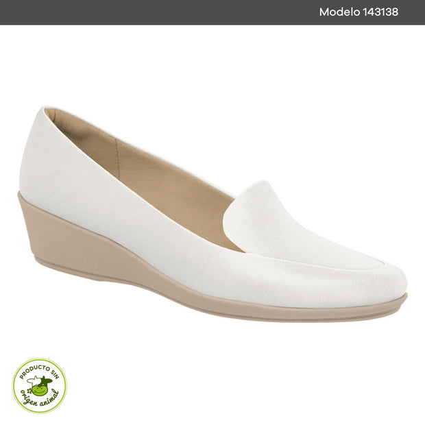 ZAPATO CUÑA PICCADILLY BLANCO