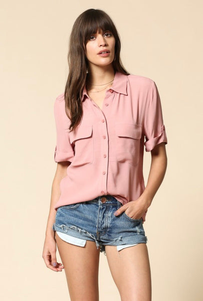 Signature Button Up Top