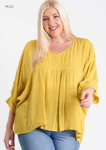 Plus Hot Springs Loose Fit Top