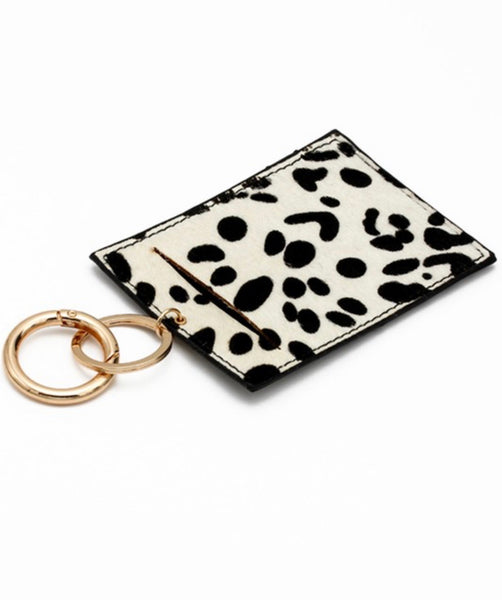 ID Card Key Ring