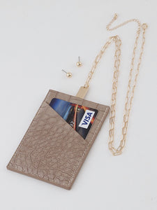 Card Wallet Lanyard