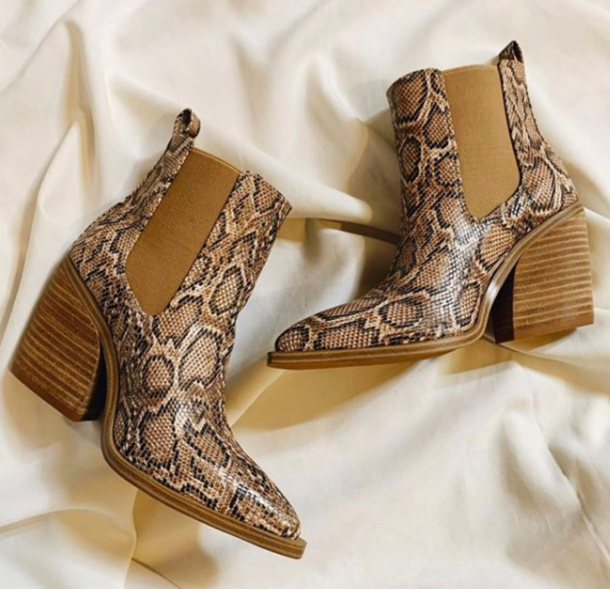 Snake Booties