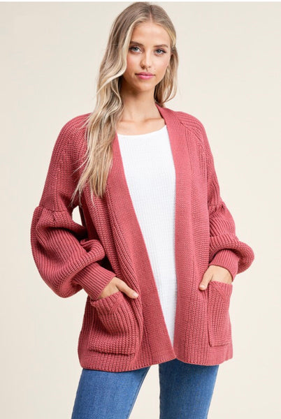 Rosé All Day Cardigan