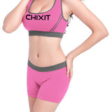 CHIXIT Jogger Top with Shorts