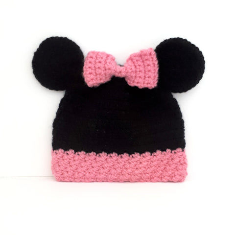 Girly Mouse Character Hat