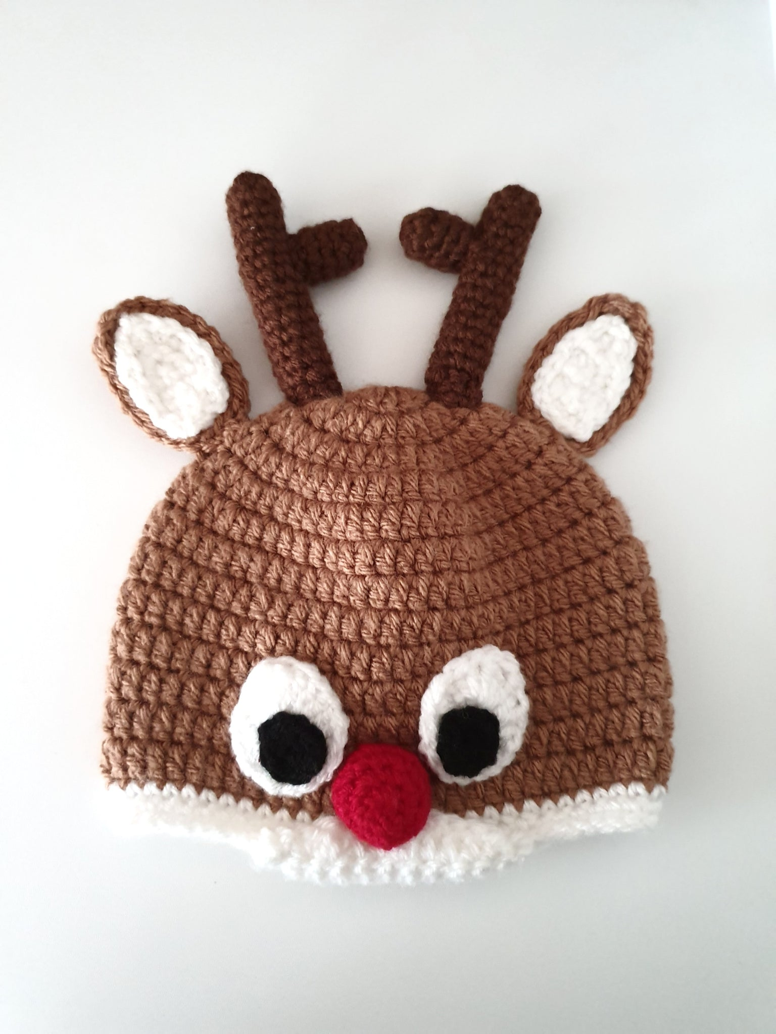 Rudolph Red Nose Hat