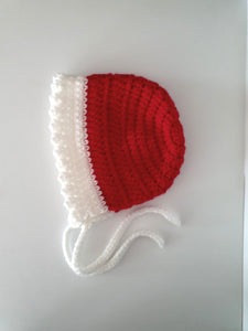 Christmas Baby Bonnet