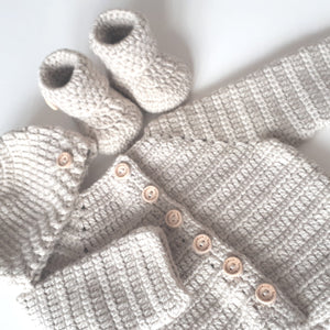 New Baby Gift Set - Classic Beige