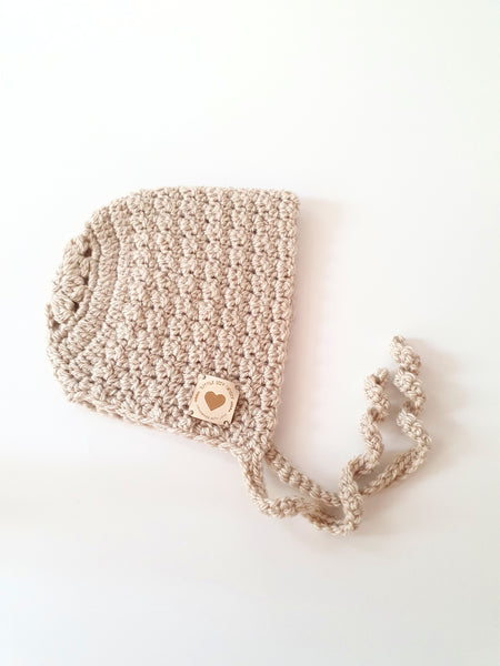 Isabella Bonnet in Light Beige