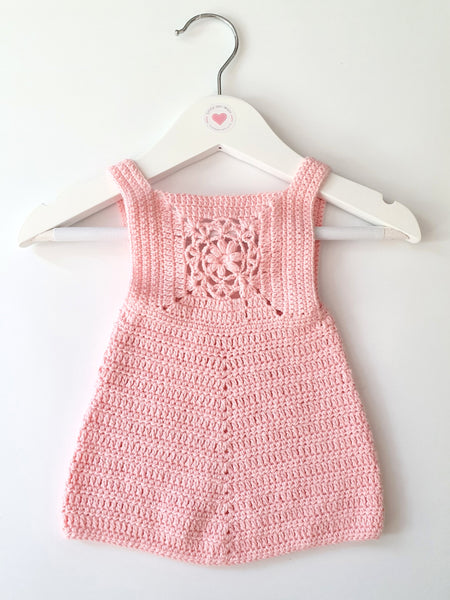 Crochet Baby Pinafore Little Izzy Wizzy