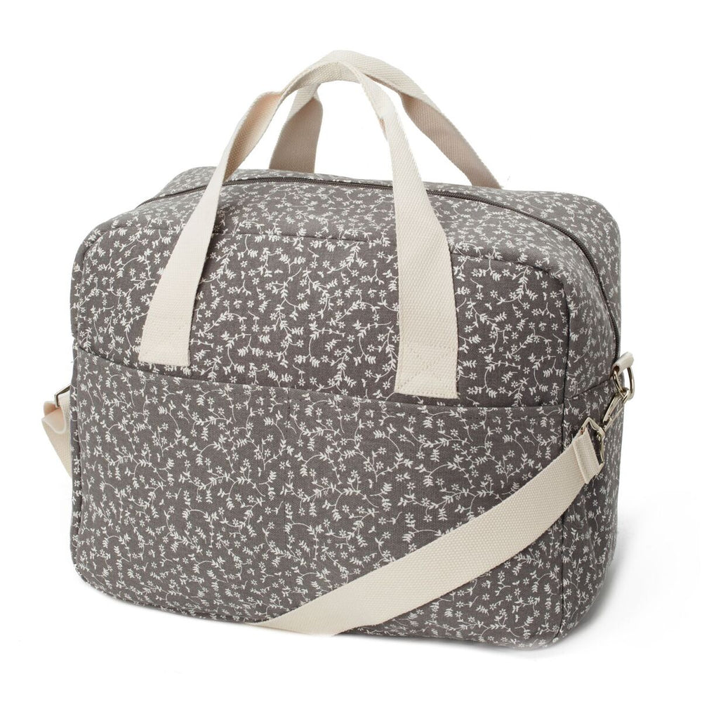My Bag's Geanta pentru maternitate - Dark Gray Liberty Flowers - Adinish.com