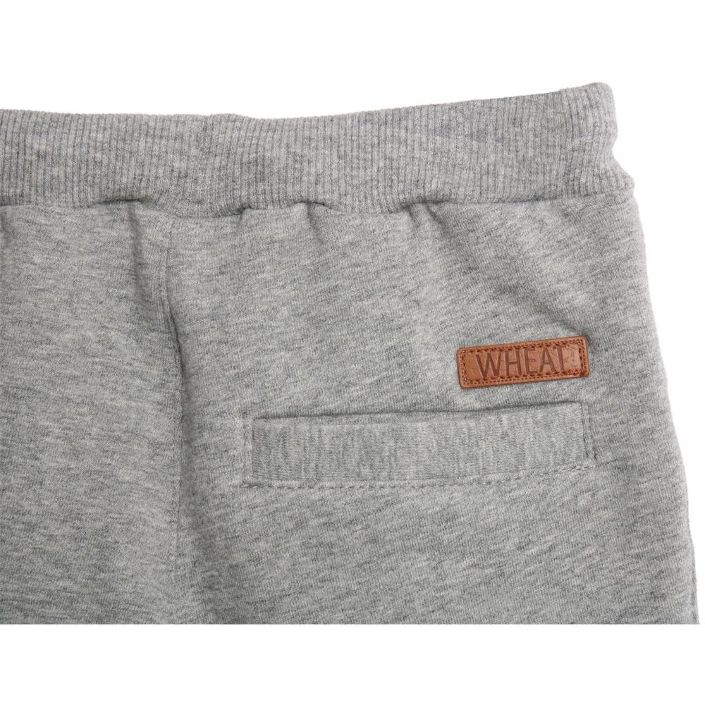 Wheat Pantaloni de trening Vincent - Melange Grey - Adinish.com